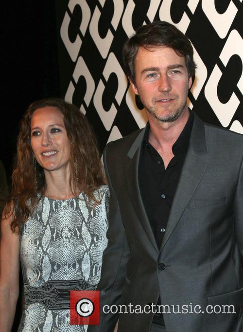 Shauna Robertson and Edward Norton 1