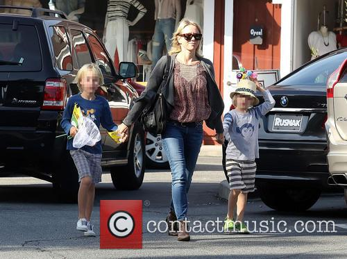 Naomi Watts shopping with sons