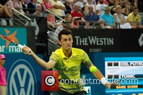 bernard tomic apia international sydney tennis tournament 4018234