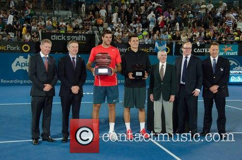 Tennis, Bernard Tomic and Juan Martin del Potro 1
