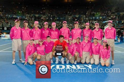 Tennis, Juan Martin del Potro, Ball Kids, Sydney Olympic Park