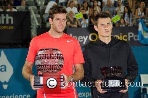 Tennis, Juan Martin del Potro, Bernard Tomic, Sydney Olympic Park