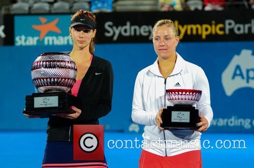 Tsvetana Pironkova and Angelique Kerber 10