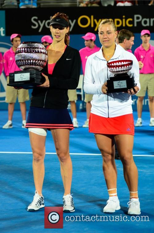 Tsvetana Pironkova and Angelique Kerber