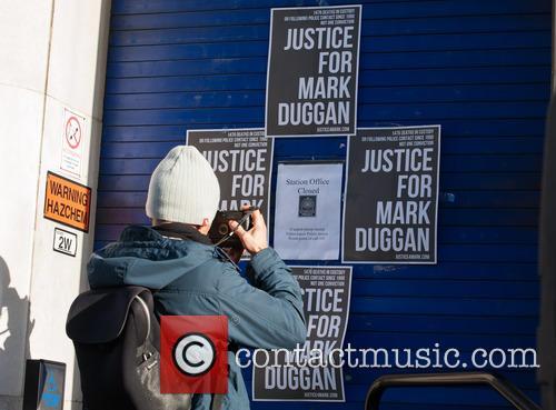 Mark Duggan protest