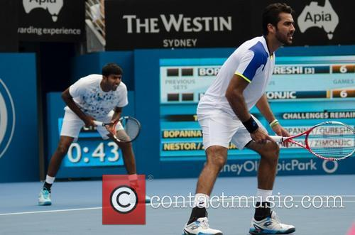 Tennis, Rohan Bopanna and Aisam-ul-haq Qureshi 6