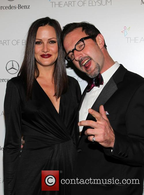 Christina Mclarty and David Arquette 5