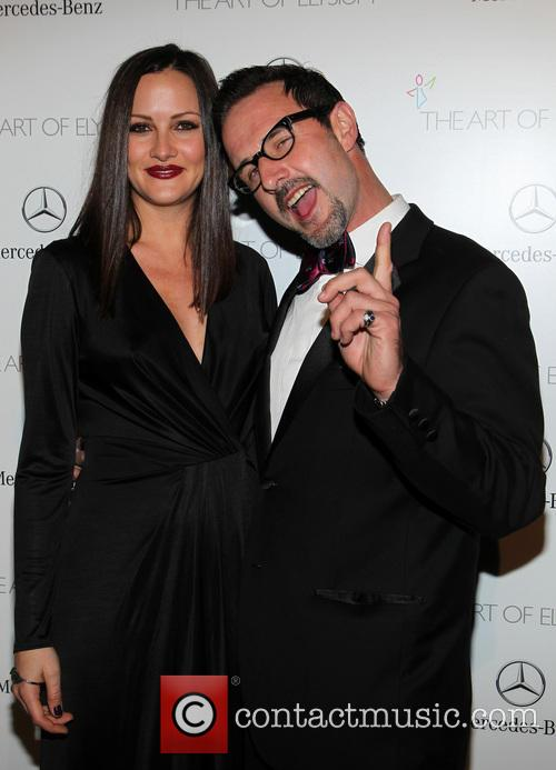 Christina Mclarty and David Arquette 6