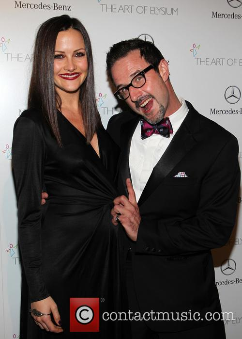 Christina Mclarty and David Arquette 7