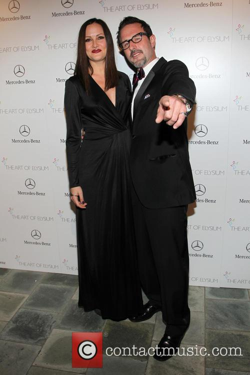 Christina Mclarty and David Arquette 8