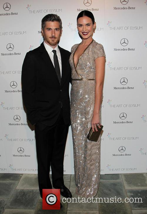 Dave Annable and Odette Annable 2