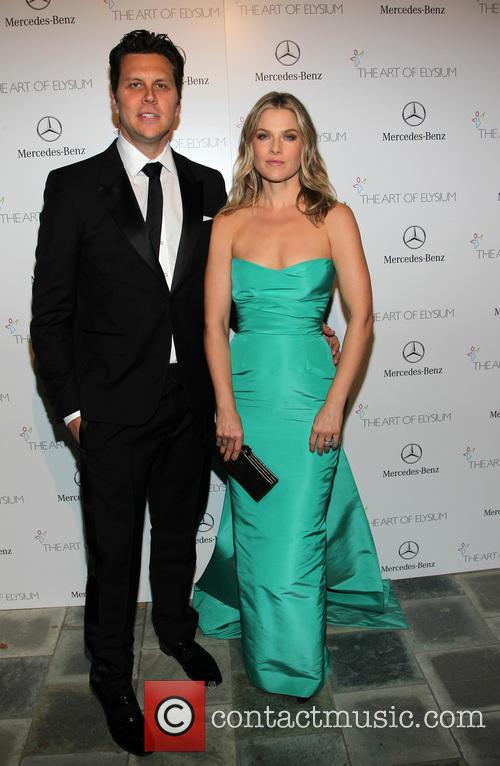 Hayes MacArthur, Ali Larter, Guerin Pavilion at the Skirball Cultural Center