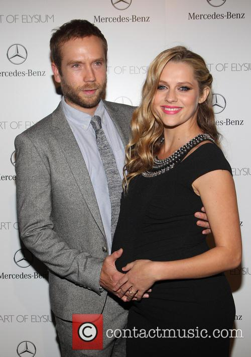 Mark Webber, Teresa Palmer, Guerin Pavilion at the Skirball Cultural Center