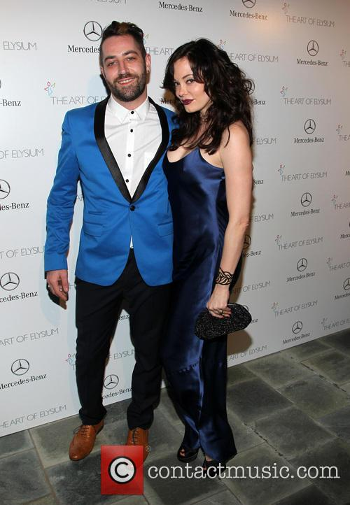 Rose McGowan, Davey Detail, Guerin Pavilion at the Skirball Cultural Center
