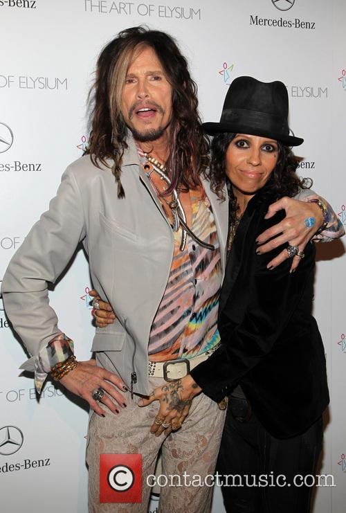 Steven Tyler and Linda Perry 3