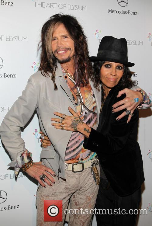 Steven Tyler and Linda Perry 11