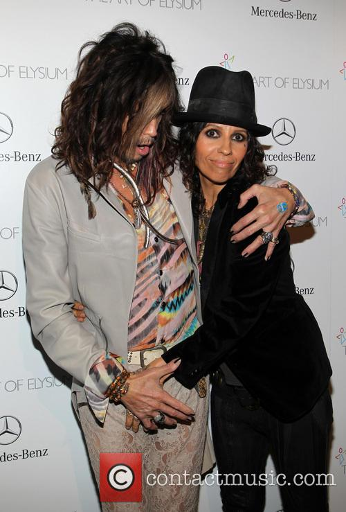 Steven Tyler and Linda Perry 7