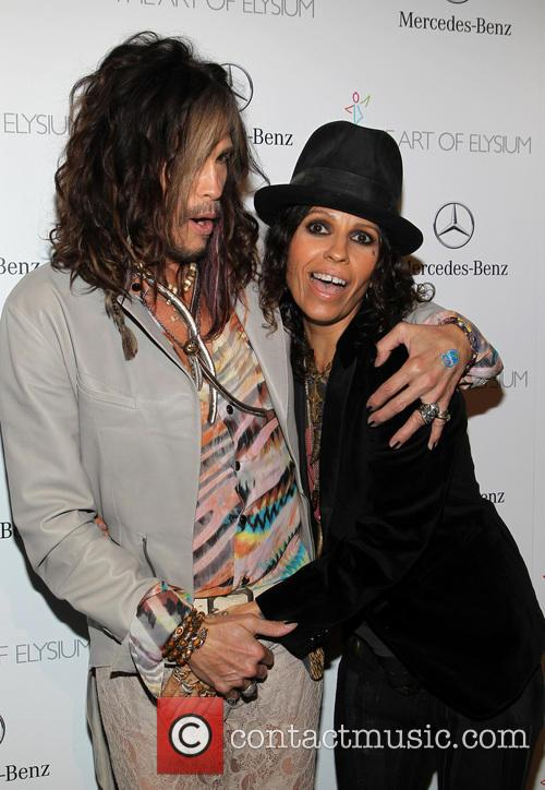 Steven Tyler and Linda Perry 1