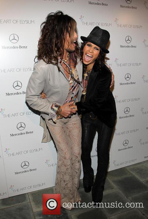 Steven Tyler and Linda Perry 8