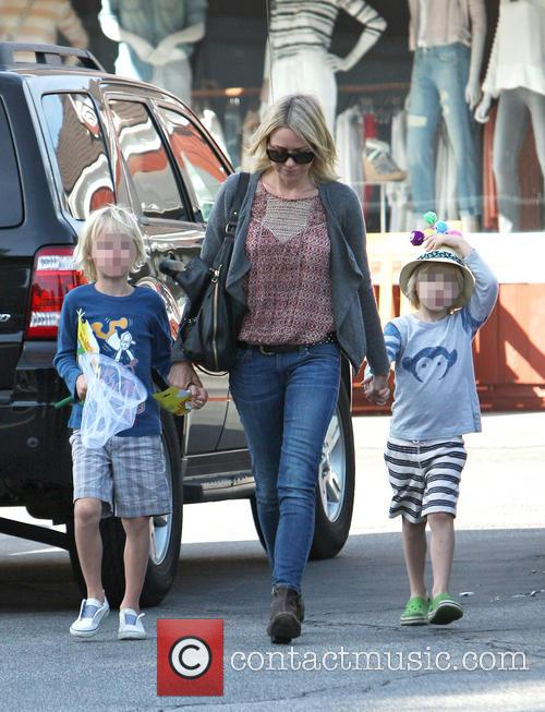 Naomi Watts out with her sons