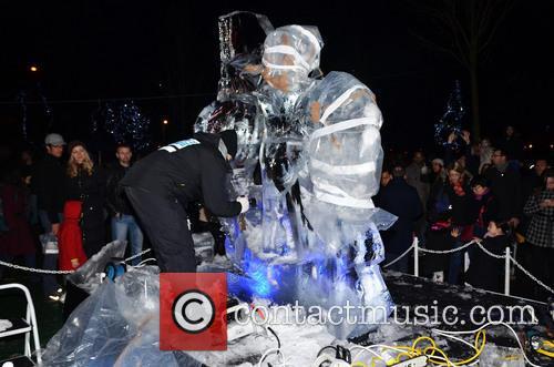 Ice Sculpting Festival 2014
