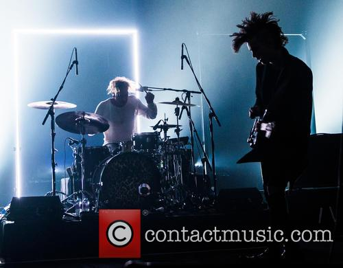 The 1975 perform live