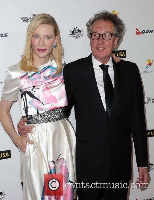 Cate Blanchett and Geoffrey Rush 2