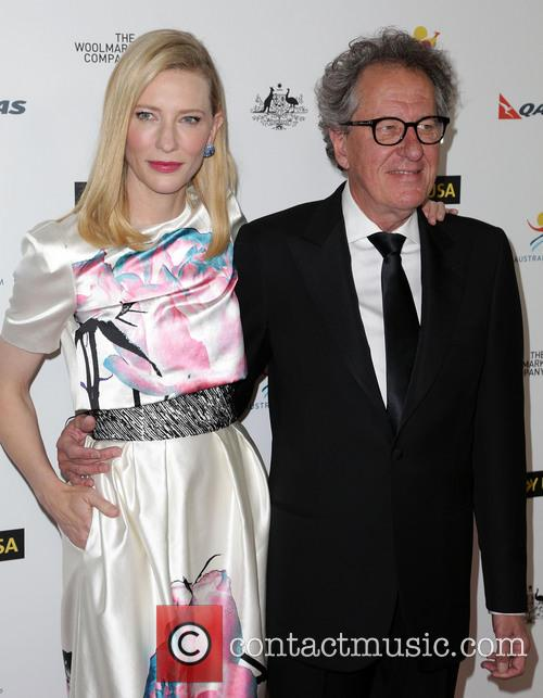 Cate Blanchett and Geoffrey Rush 3