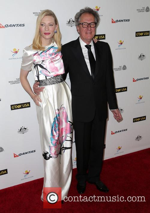 Cate Blanchett and Geoffrey Rush 4