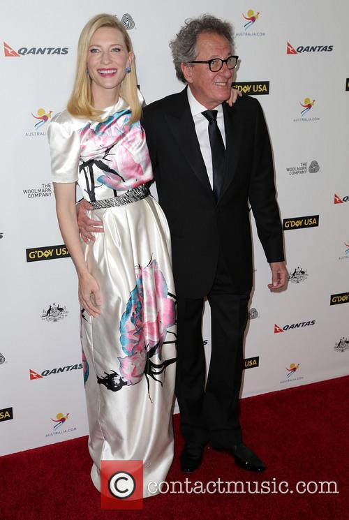 Cate Blanchett and Geoffrey Rush 1