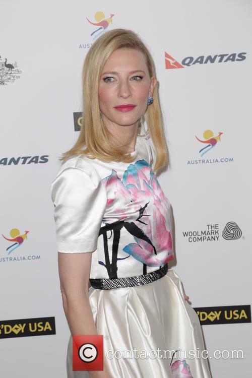 Cate Blanchett, JW Marriot at LA Live