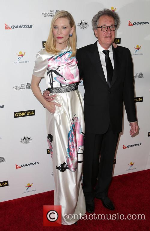 Cate Blanchett and Geoffrey Rush 10