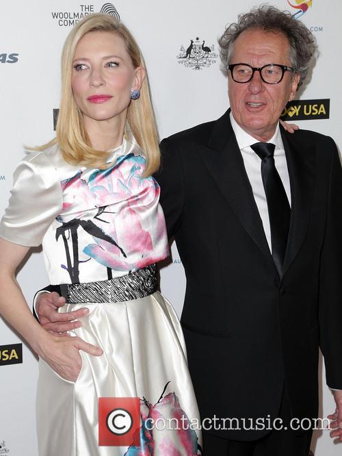 Cate Blanchett and Geoffrey Rush 1