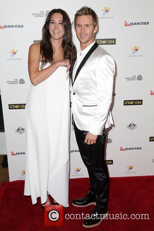 Sara Canning and Ryan Kwanten 1