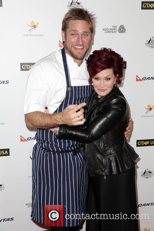 Curtis Stone and Sharon Osbourne 3
