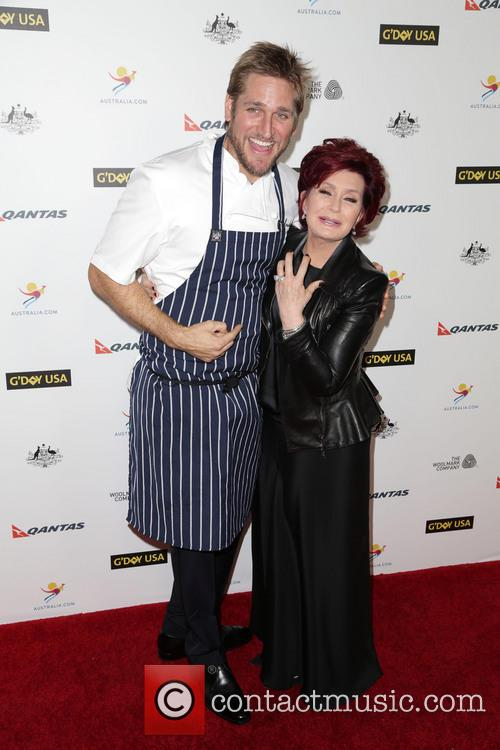 Curtis Stone and Sharon Osbourne 1