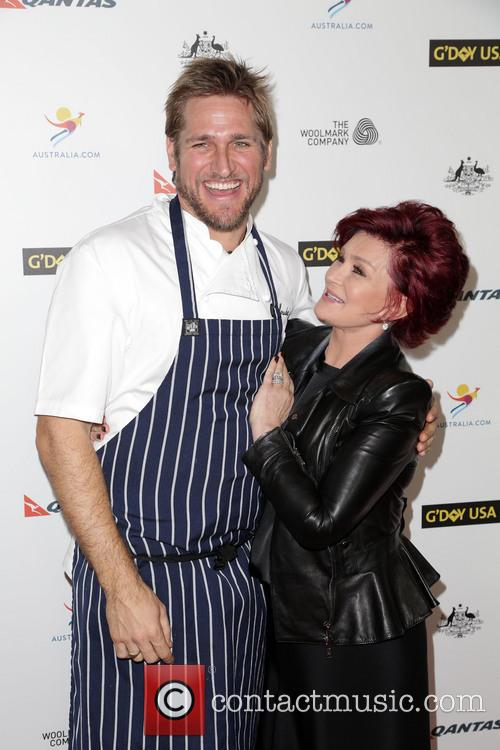 Curtis Stone and Sharon Osbourne 4