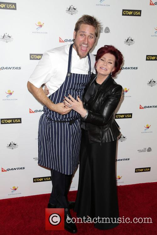 Curtis Stone, Sharon Osbourne, JW Marriot at LA Live