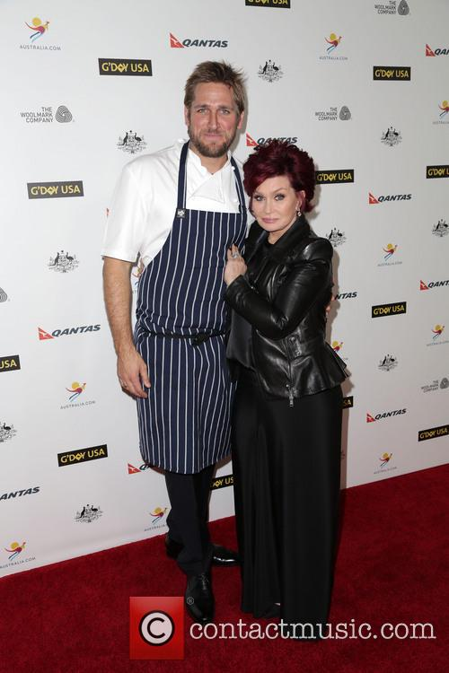 Curtis Stone and Sharon Osbourne 6