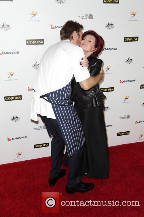 Curtis Stone and Sharon Osbourne 7