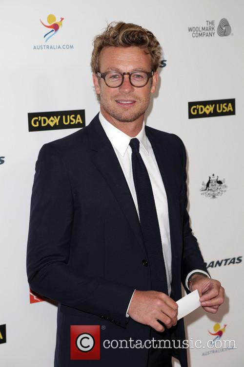 Simon Baker, JW Marriot at LA Live