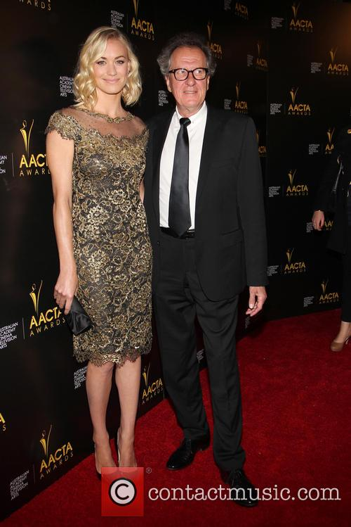 Yvonne Strahovski and Geoffrey Rush 3