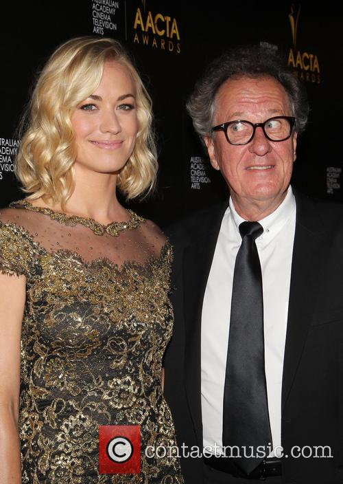 Yvonne Strahovski and Geoffrey Rush 4
