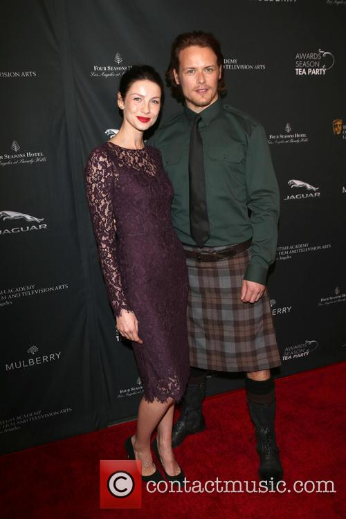 Caitriona Balfe and Sam Heughan 6