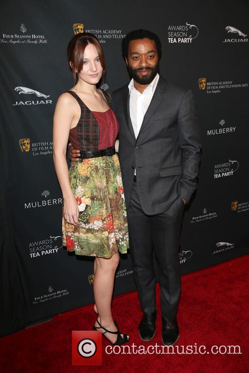 Chiwetel Ejiofor and Sari Mercer 2