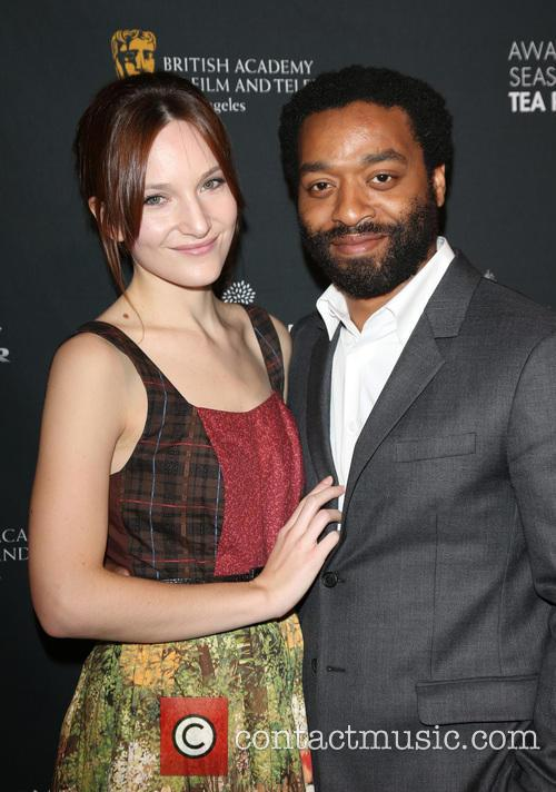 Chiwetel Ejiofor and Sari Mercer 1