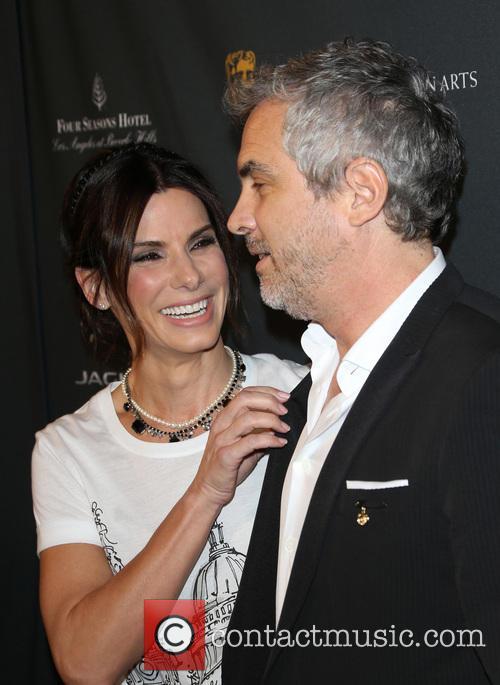 Sandra Bullock and Alfonso Cuaron 2