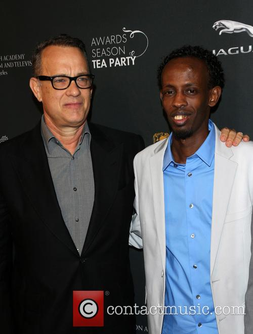 Barkhad Abdi and Tom Hanks
