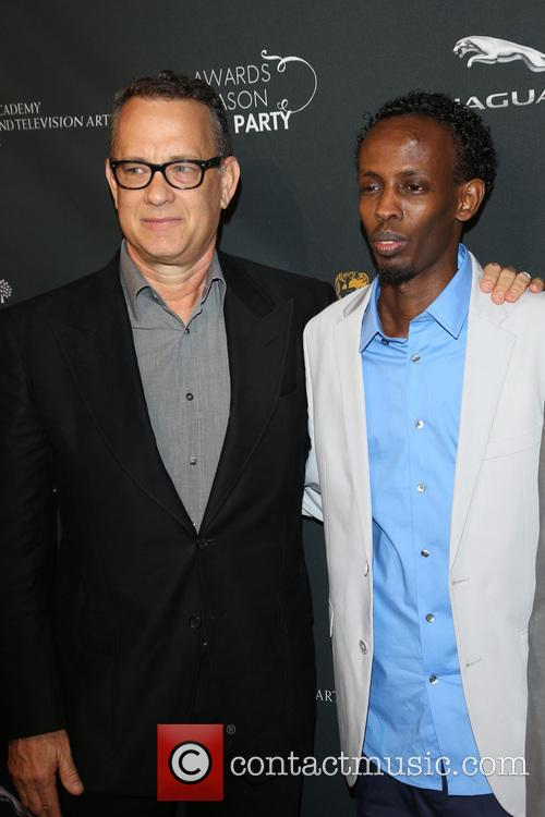 Tom Hanks and Barkhad Abdi 4