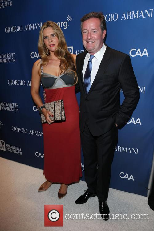 Celia Walden and Piers Morgan 1